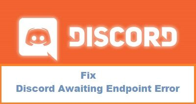 Fix Discord Awaiting Endpoint Error