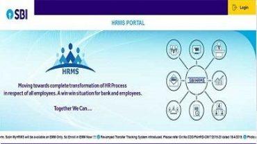 SBI HRMS Login Portal