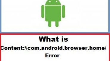 What is Content com.android.browser.home