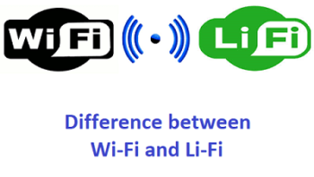 Difference between Wi-Fi and Li-Fi