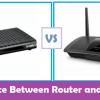 difference between router and modem