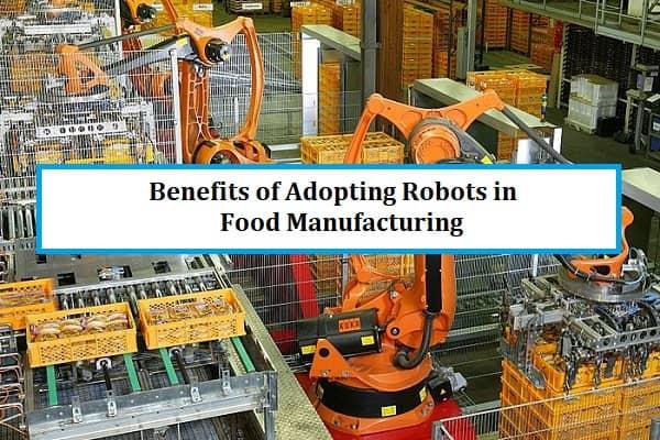 Benefits of Adopting Robots in Food Manufacturing