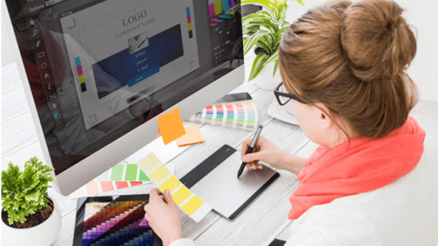 freelance graphic designing professional
