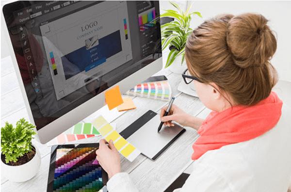 freelance graphic designing professional