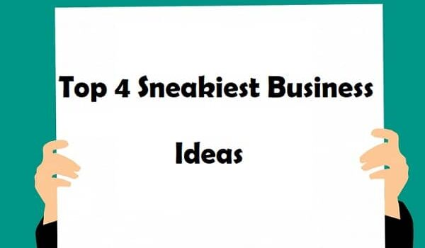 Top 4 Sneakiest Business Ideas