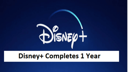 Disney+ Completes 1 Year