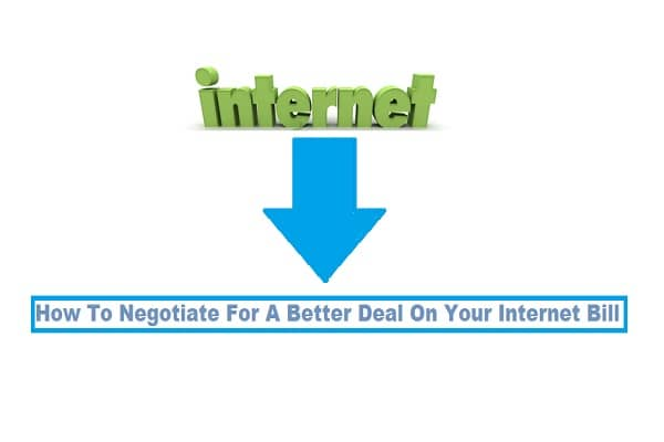 How To Negotiate For A Better Deal On Your Internet Bill