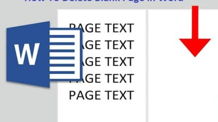 How To Delete Blank Page in Word