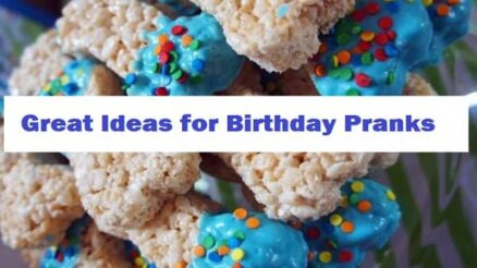 Great Ideas for Birthday Pranks
