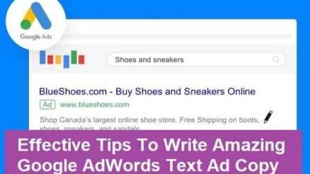 Tips To Write Amazing Google AdWords text Ad Copy