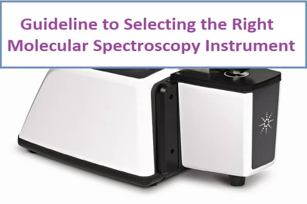 Guideline to Selecting the Right Molecular Spectroscopy Instrument