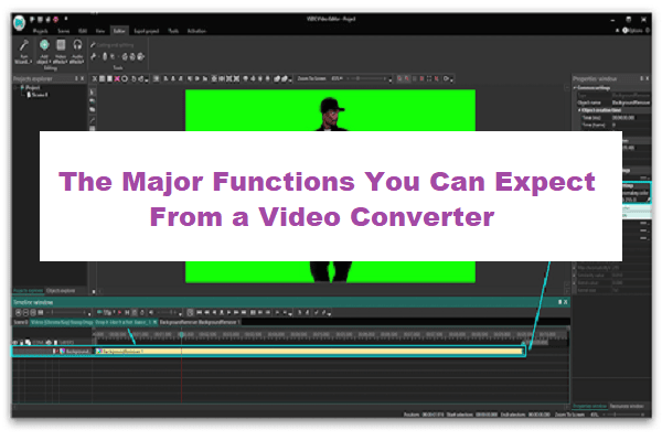 Functions You Can Expect From a Video Converter