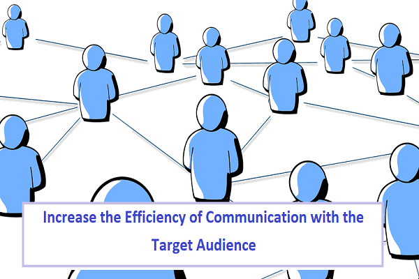 Communication with the Target Audience