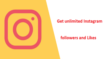 Get unlimited Instagram followers and Likes