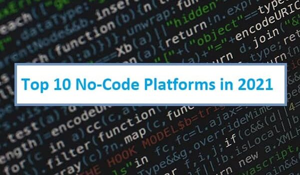 Top 10 No-Code Platforms