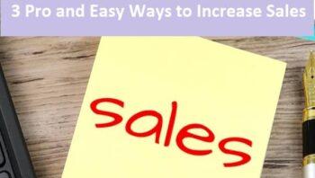Easy Ways to Increase Sales